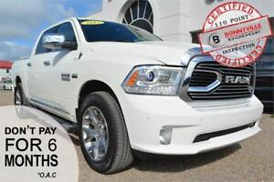 2017 Ram 1500 Limited- LEATHER, ONLY 60,090 KMS, REMOTE START