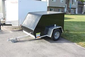 2018 Brave 4x6 Envclosed cargo Trailer by Rance Aluminum
