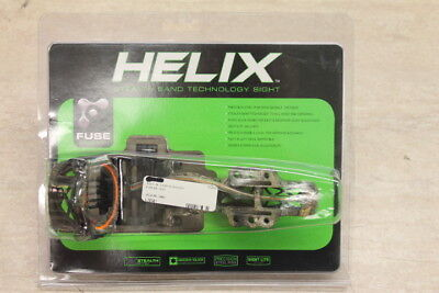 Fuse Archery Helix Stealth Band Technology Sight 5 Pin   Camo   Micro Adjustment