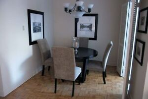Beautifully furnished 1br (3 1/2) condo, downtown Montreal