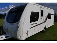 2011 Swift Challenger 565 4 Berth Caravan Twin Single Beds