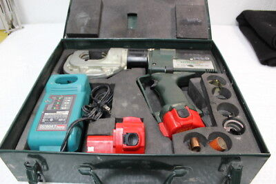 4374 Greenlee Gator Ek-1240 Battery Crimping Tool