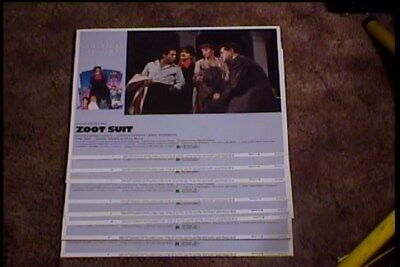 Fashion Zoot Suit (ZOOT SUIT 11x14 LOBBY CARD SET 1981 FASHION)