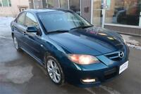 2007  Mazda3 GT 5 speed manual sunroof htd seats now only $6500 Winnipeg Manitoba Preview