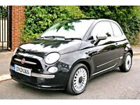 2012 FIAT 500 0.9cc TWIN AIR LOUNGE PANORAMIC ROOF EDITION, 35K MILES, HIGH SPEC 12 reg