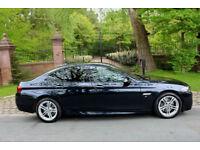 65 PLATE BMW 530 DIESEL M SPORT 1 PREV OWN 18,680 MILES AUTO PRO WIDE SCREEN NAV