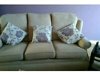 Free to collect, reclining chair 2 + 3 seater settee