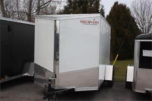 6X10 Discovery 6X10 Enclosed Cargo Trailer
