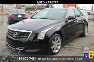 2013 CADILLAC ATS LUXURY XENON, TOIT, CAMERA, CLEAN CARPROOF