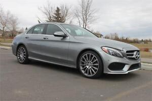 2015 Mercedes Benz C400 4Matic AMG Package *Rare Color Combo*