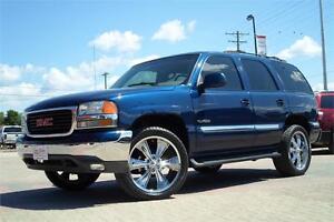 "2001 GMC Yukon SLT 4x4 *22"" Chrome Wheels with Brand New Tires*"