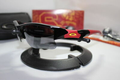 931a5e82ae New Oakley USC Trojans Collegiate Flak Jacket 1.0 Sunglasses Black 24-195