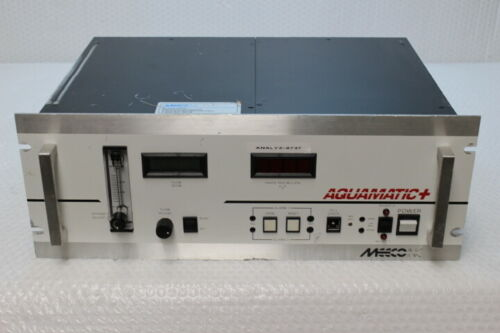 5212  MEECO Aquamatic Aqua + Moisture Analyzer