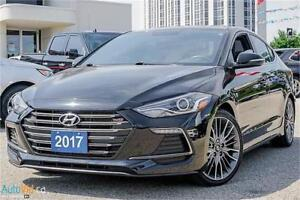 2017 Hyundai Elantra Sport| 6 SPEED MANUAL| BLUETOOTH| SUNROOF