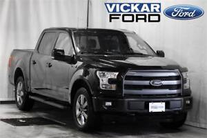 2015 Ford F150 4x4 Crew Lariat Sport with FX4