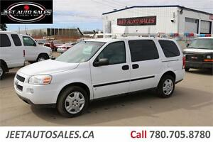 2009 Chevrolet Uplander Cargo Van Cargo Van Ladder Rack LOW KM