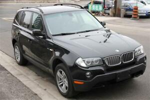 2008 BMW X3 3.0 Premium (Leather+Pano Roof)