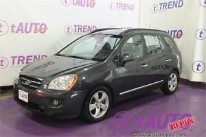 Driven by passion. 2008 Kia Rondo EX w/3rd Row