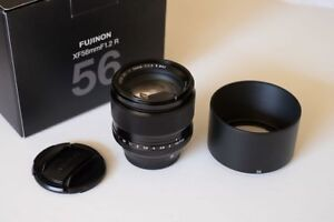 Fujinon 56mm f1.2 Fantastic lens for Fuji X Series