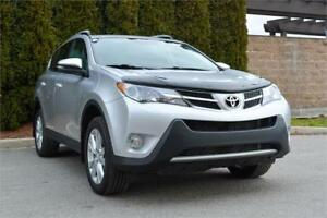 2013 Toyota Rav4 Limited AWD w/ Power Liftgate / Low Kms