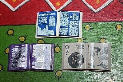 PLAYMOBIL X3 LIBROS ABIERTOS LIBRO ABIERTO LIBRERIA BIBLIOTECA SALON MANSION