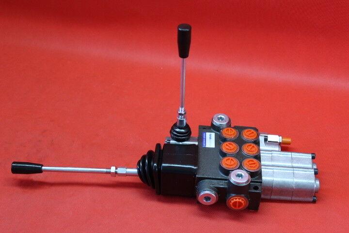 1dw schwimmstellung joystick Impuesto mano válvula unidad de control monoblock 3 especializada 2dw