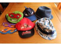 Childrens Hats to suit 3-6 years old, all in Excellent Condition, delivery available!