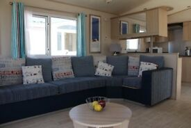 Beachcomber luxury 2 Bed 6 Berth caravan for hire at the 5 star award winning Golden Sands Rhyl