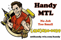 Handy MTL - Furniture Assembly, Handy Work, Electrical