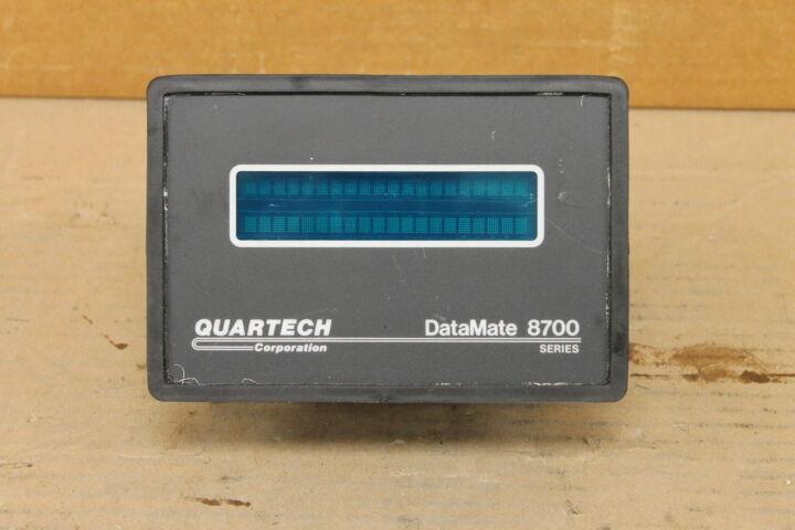 QUARTECH 8711 DATAMATE 8700