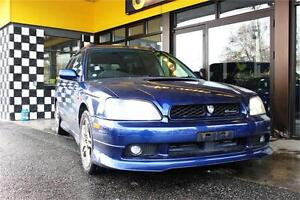 2000 Subaru Legacy Wagon GT 4WD  103K's MANUAL Twin-Turbo 276hp