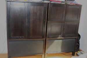 Deux armoirs modernes IKEA-Aubaine Prix baissé