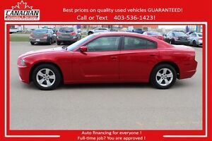 2012 Dodge Charger SE no Accidents low kms Financing for ALL!!