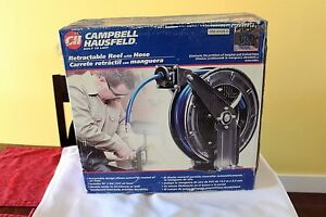 Air hose, Retractable reel with hose