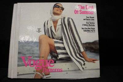 1989 Vogue Store Counter Pattern Book Fashion Catalog Best of Summer