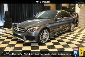 2015 MERCEDES C400 4MATIC SPORT AMG PACK, NAVI, LED, PANO, CAM..