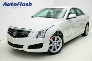 2014 Cadillac ATS TURBO 2.0L *Cuir/Leather *AWD *Mags *Clean!