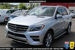2014 MERCEDES ML350 BLUETEC AWD NAVIGATION/CAMERA/TOIT PANORAMIC