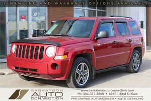 2009 Jeep Patriot 4x4 ** HEATED SEATS ** PREMIUM AUDIO ** LOW KM