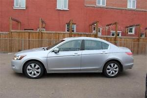 2008 HONDA ACCORD LOW KMS LEATHER LOADED !!!