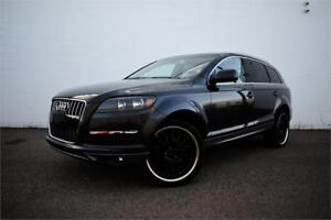 2011 AUDI Q7 QUATTRO 3.0T | AWD | CERTIFIED | LOADED |