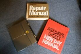 3 Excellent Readers Digest DIY and repair books