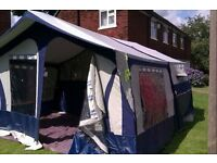 Trailer tent Conway challenger 2007 with bulldog hitchlock and extras