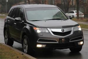 2010 Acura MDX SH-AWD DVD NAVI BACKUP CAM 7 SEAT LEATHER ROOF