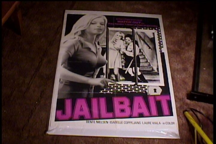 JAILBAIT 1972  ORIG MOVIE POSTER SEXPLOITATION