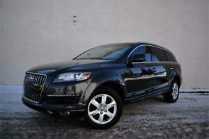 2013 AUDI Q7 QUATTRO 3.0T | AWD | CERTIFIED | LOADED |