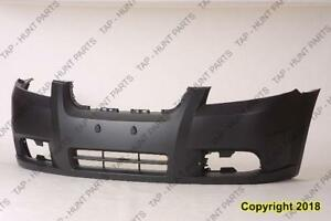 Bumper Front Primed Sedan Chevrolet Aveo 2007-2011