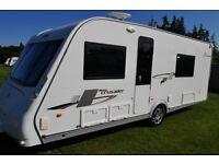 2010 Elddis Crusader Tornado 4 Berth Caravan Fixed Bed