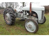 FERGUSON TEF20 GERY FERGIE DIESEL 1953 ROAD REG LOG BOOK SEE VIDEO CAN DELIVER NO VAT