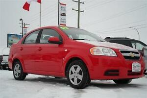2008 Chevrolet Aveo LS **ONLY 78,000kms!**